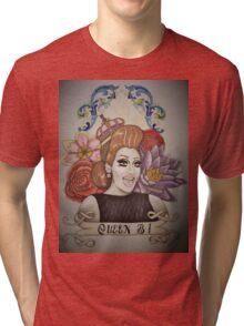 Drawing of Bianca Del Rio Tri-blend T-Shirt