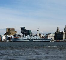 Liverpool and Ark Royal by gothgirl