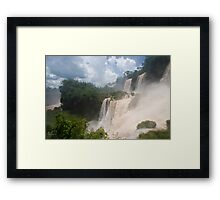 Iguazu, Argentina Framed Print