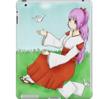 Paper Crains  iPad Case/Skin