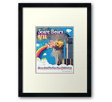Scare Bears 9/11 Framed Print