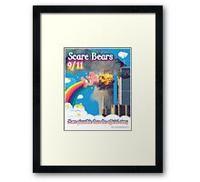 Scare Bears 9/11 Framed Print