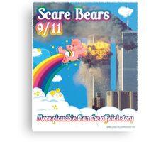 Scare Bears 9/11 Metal Print