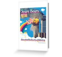 Scare Bears 9/11 Greeting Card