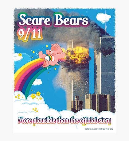 Scare Bears 9/11 Photographic Print