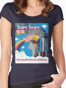 Scare Bears 9/11 Women's Fitted Scoop T-Shirt