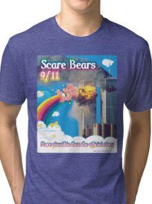 Scare Bears 9/11 Tri-blend T-Shirt