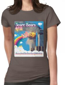 Scare Bears 9/11 Womens Fitted T-Shirt
