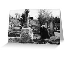 cemetary Greeting Card