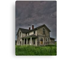 The Abandoned Collection: Haunted Series 1 of  3 Canvas Print
