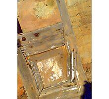 Dilapidated Door  Photographic Print