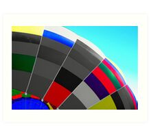 Semi Colorful Art Print