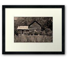 Davis-Queen House II Framed Print