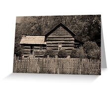 Davis-Queen House II Greeting Card