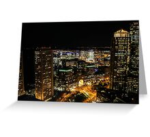 Stay Up With the City Greeting Card