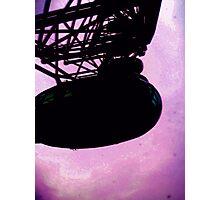 Purple Eye Photographic Print