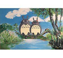 My 'Lover' Totoro Photographic Print