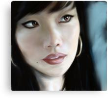 firestation (self portrait) Canvas Print