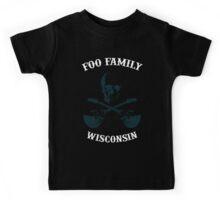 Foo Fam Wisconsin Kids Tee