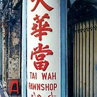 A Pawn Shop Sign © by Ethna Gillespie