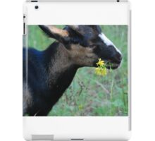 and the goat ate iPad Case/Skin