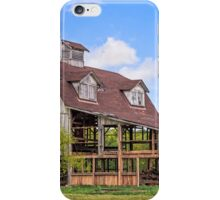 Old Interesting Barn iPhone Case/Skin