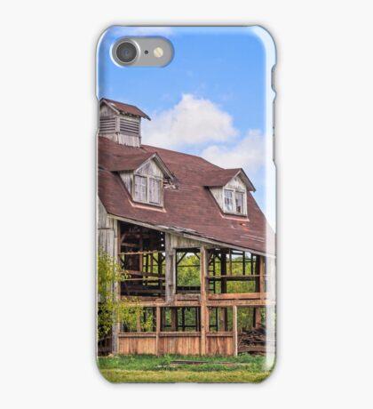 Old Interesting Barn iPhone Case/Skin