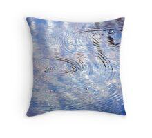 Watermark #3 Throw Pillow