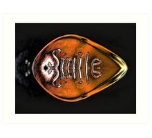 Yegads...it's the Smile Bullet!! Art Print