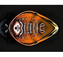 Yegads...it's the Smile Bullet!! Photographic Print
