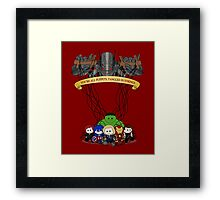 Ultrons Puppets Framed Print