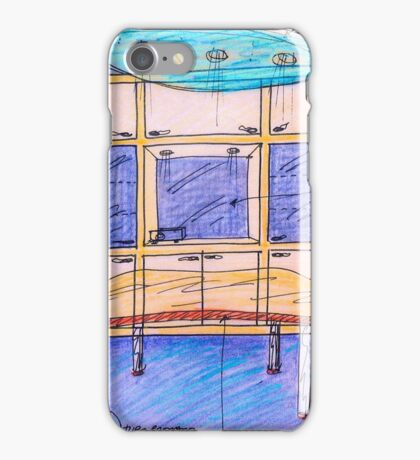 atelier project.  sketch. collage iPhone Case/Skin