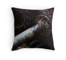 The Workings Throw Pillow