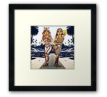 Feeling Myself Framed Print