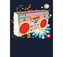 Boombox - Summertime Photographic Print