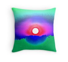 Battle Mountain Throw Pillow