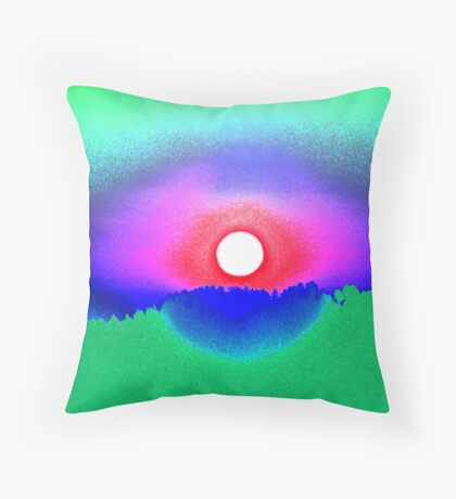 Battle Mountain Throw Pillow