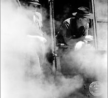 Full steam ahead by ronsphotos