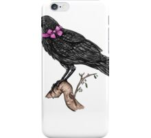 Crow in a Bow iPhone Case/Skin