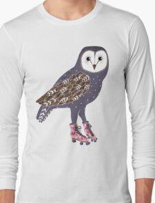 I skate OWL night long Long Sleeve T-Shirt