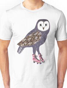 I skate OWL night long Unisex T-Shirt