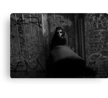 Deathly Reminder II Canvas Print