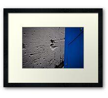 Blue machine Framed Print