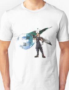Cloud Strife Gridwork design & logo Unisex T-Shirt