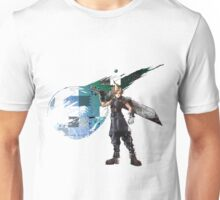 Cloud Strife Gridwork design & logo Unisex T-Shirt