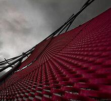 Red Steel Sail Art by FuriousEnnui