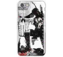 Punisher Gridwork & logo iPhone Case/Skin