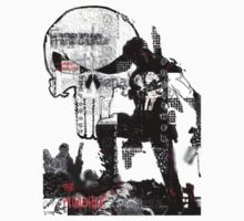 Punisher Gridwork & logo by nemis35