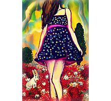 Spotted Dress Photographic Print