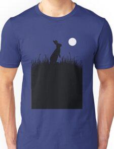 Moonlit Rabbit Unisex T-Shirt